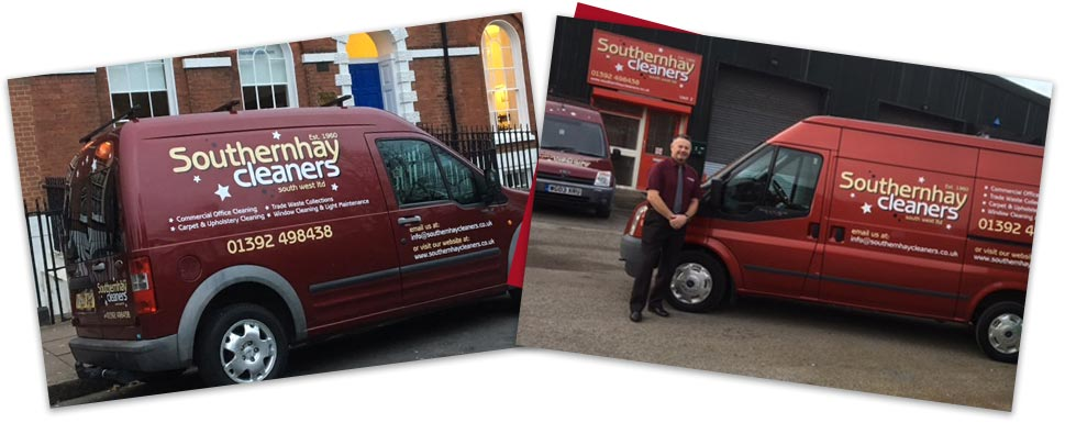 Southernhay-cleaners-own-van